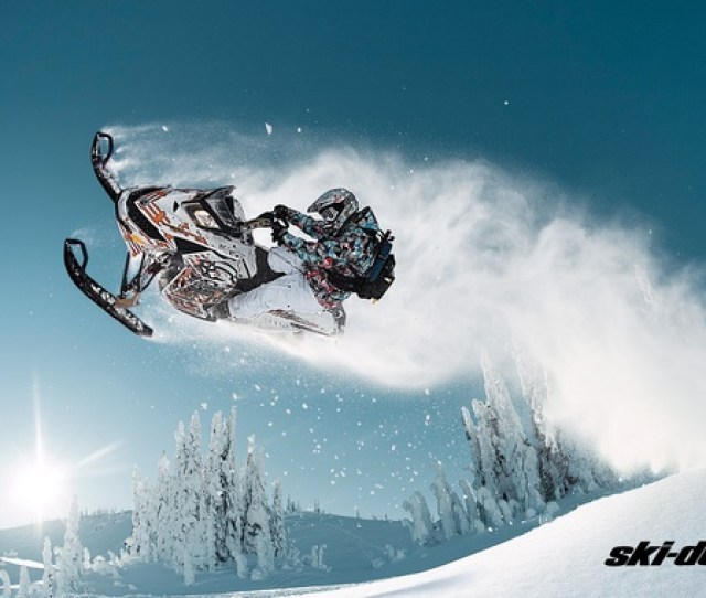 Picture Forest Snow Jump Sport Sport Snow Snowmobile Freeride
