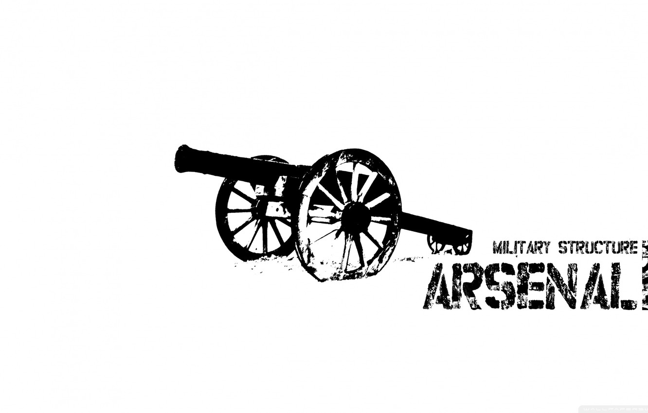 Wallpaper logo, emblem, gun, The, Arsenal, the gunners