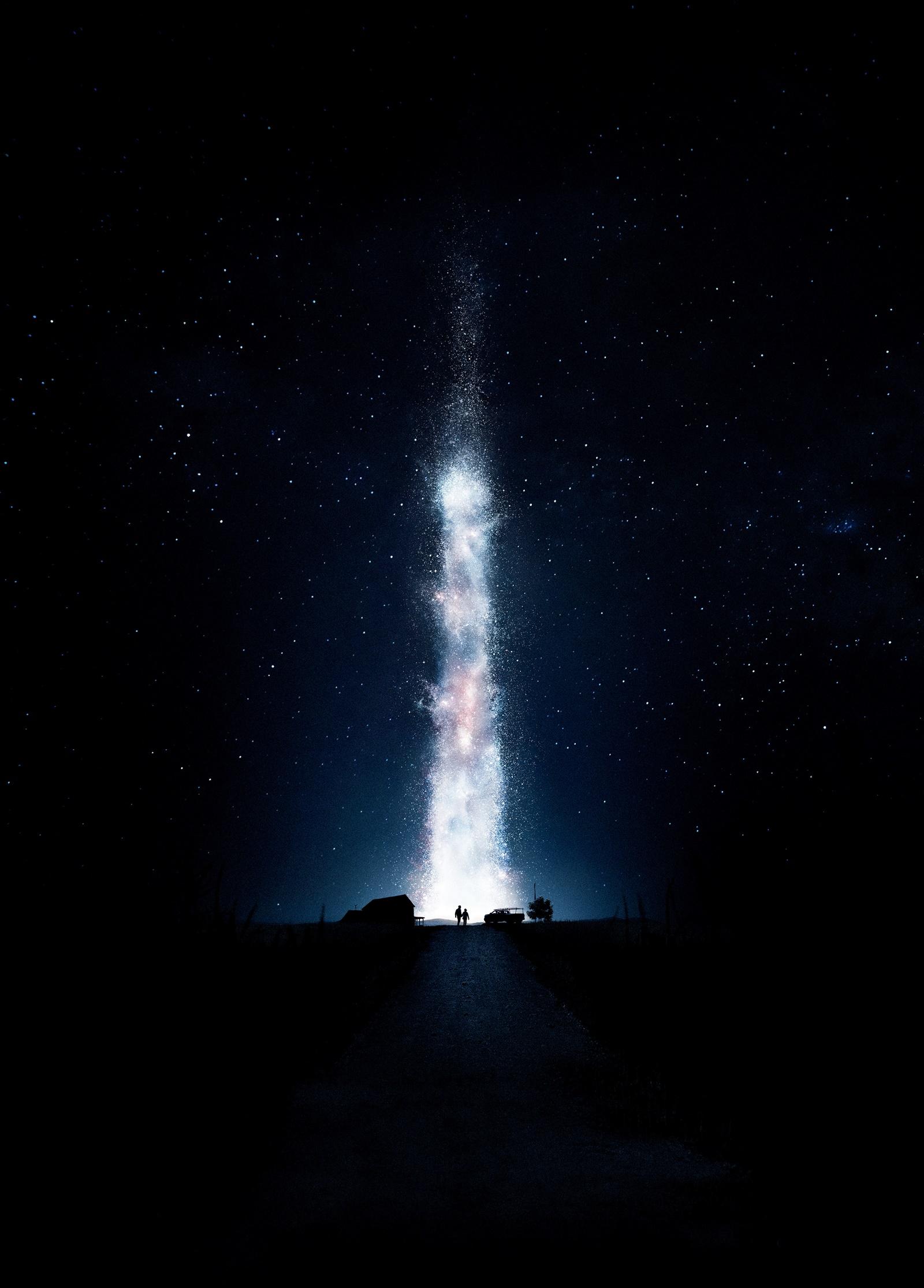 Gigante luz indo em direção ao céu