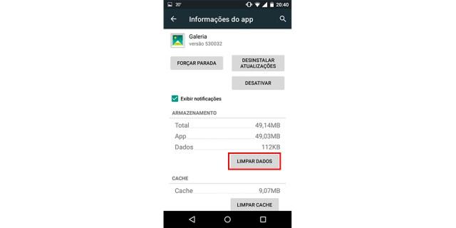 Recuperar imagens no Android