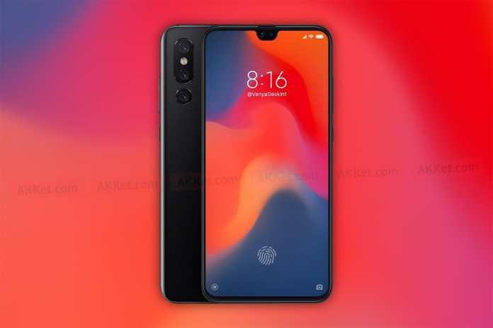 Xiaomi Mi 9 conceito