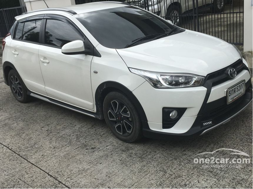all new yaris trd sportivo 2017 grand avanza silver metallic toyota 1 2 in กร งเทพและปร มณฑล automatic hatchback