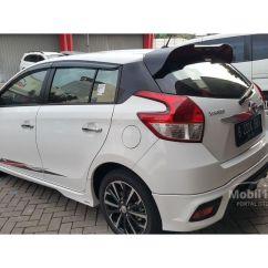 Toyota Yaris Trd Sportivo 2017 Cvt Jual Mobil 1 5 Di Banten Automatic At Putih