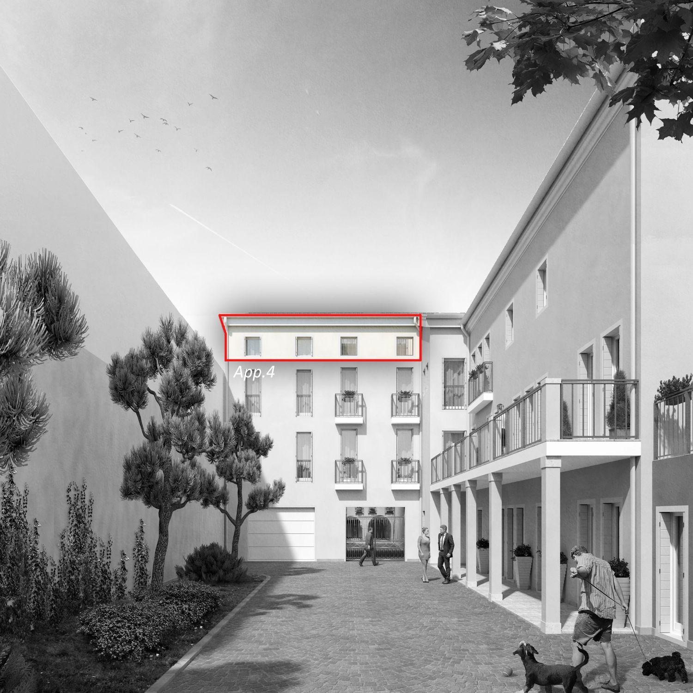 Appartamento Su Due Piani In Vendita In Viale Vittorio