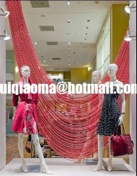 Coloured Decorative Metal Bead Curtains,Ball Chain Door