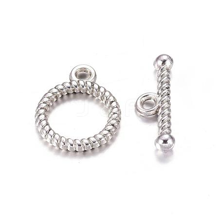 Wholesale Tibetan Style Toggle Clasps, Lead Free & Cadmium