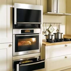 Miele Kitchen Appliances Commercial Hood Installation 世界顶级厨电品牌 豪宅里那些叫不出名字的逆天设备 界面新闻 生活 秉持着线条简洁明晰和外型经典优雅的设计信条 其嵌入式厨房电器风格多变 且在设计线条和选择颜色时保持一致 适合最多样的室内设计和厨房家具前端 无论家中的