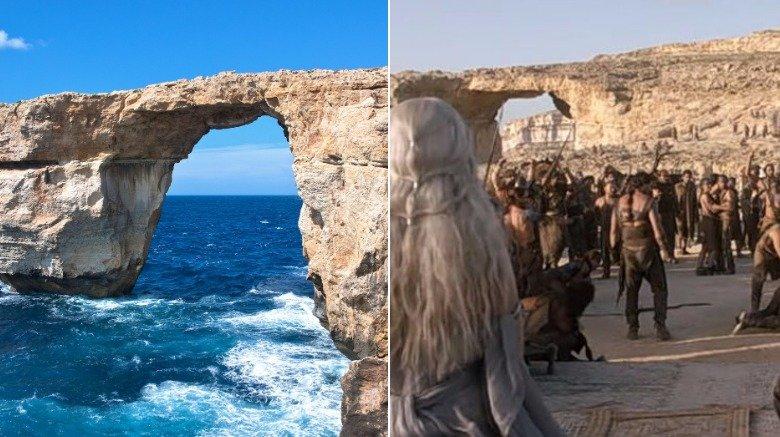 Azure Window, Malta (Daenerys & Drogo's wedding)
