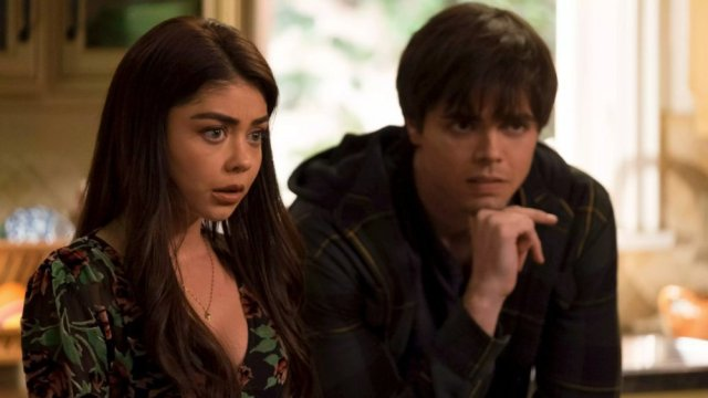 Sarah Hyland and Reid Ewing in Modern Family
