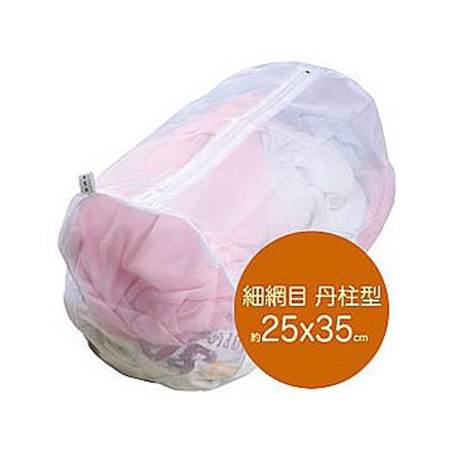 【UdiLife】細網圓柱形洗衣袋-25×35cm-12入組