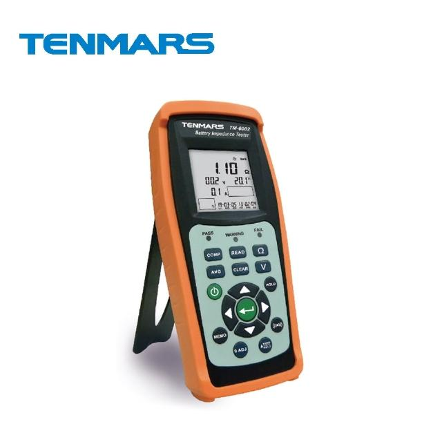 【Tenmars 泰瑪斯】TM-6002 電池阻抗/容量 測試器(電池阻抗測試 電池容量測試 電池測試)