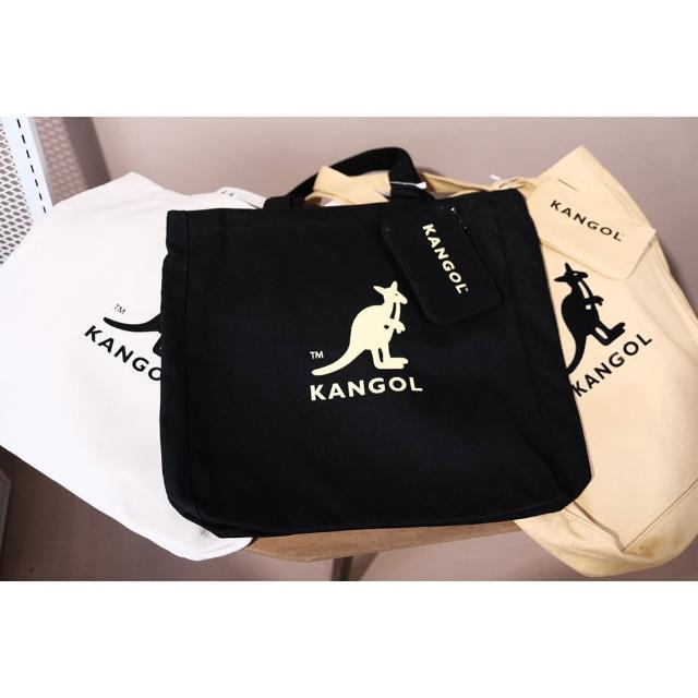 【KANGOL】時尚 超大 子母 托特包 共三色(6055303220&6055303232&6055303201)