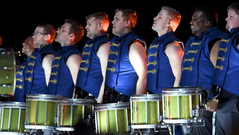 Super Bowl drumline
