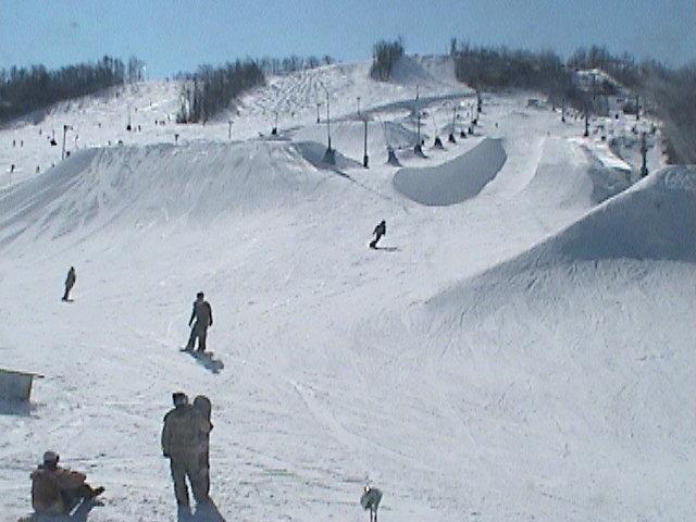 coors light chair lift design blue mountain ski & snowboard photos