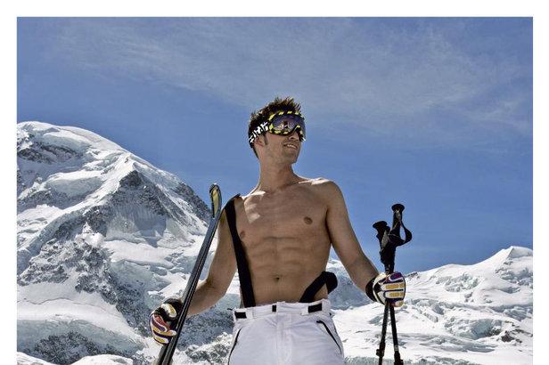 2014 Male Ski Instructor Calendar  Mr October 2014  Ski instructor calendar  OnTheSnow