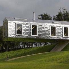 Pottery Barn Kitchen Rugs White Tile 挑战农村建筑新设计英国创意度假屋 别墅 太平洋家居网 平衡谷仓 建筑设计外观图