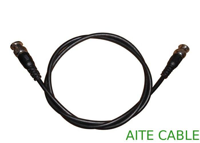 2 BNC Male to BNC Male Plug CCTV Pre-Made Wire RG59