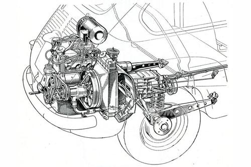 Le automobili a motore posteriore (II parte). Dalla Fiat