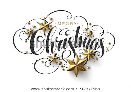 Christmas Decorations With Label Stock Photo C Maksim Pasko Baks 6417553 Stockfresh
