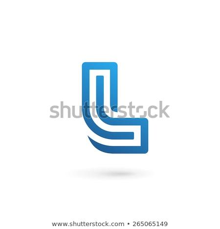 letter l logotype element