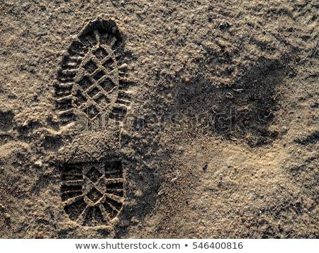 Abstract footprint background vector illustration