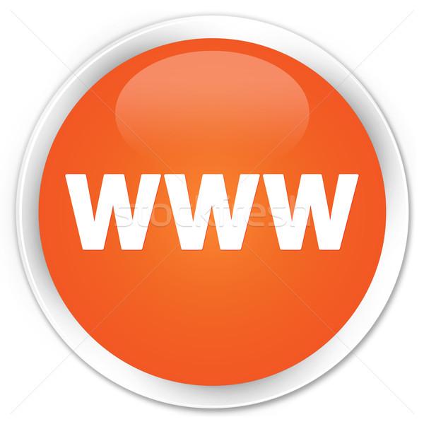WWW icon orange button stock photo  Faysal Farhan faysalfarhan 2245540  Stockfresh