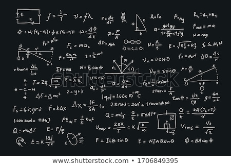 Algebra formulas stock photo © grafvision (#1942878
