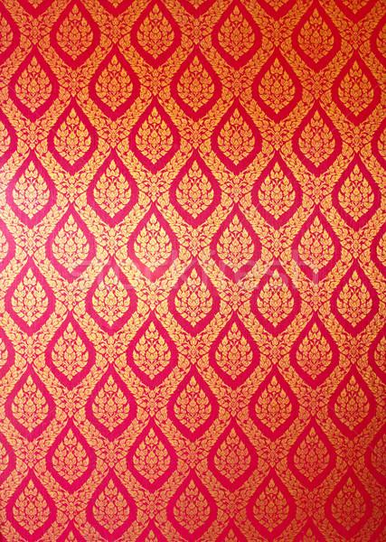 Thai art wall pattern for background stock photo  Nongnuch Leelaphasuk happydancing 1654116