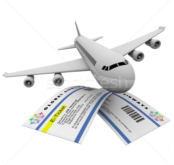 airplane stock photos stock
