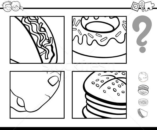 Adivinhar · comida · objetos · livro · para · colorir