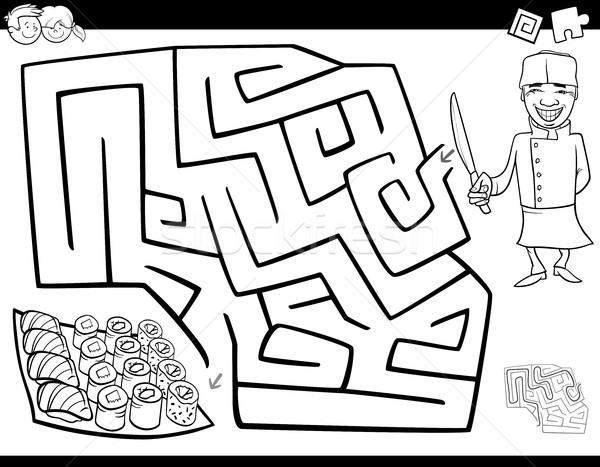 Labyrinth Stock Vector