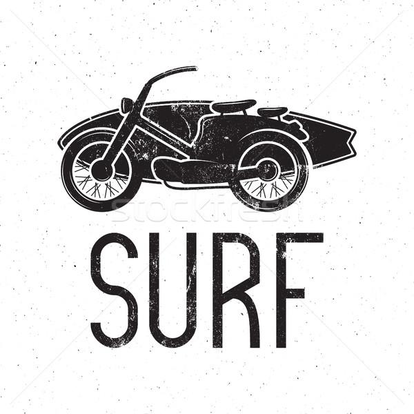 Vintage · surfen · ontwerp · retro · surfen · tshirt