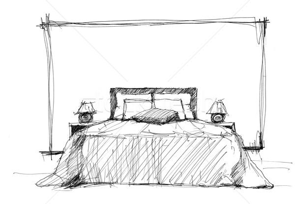 Bedroom stock photo © Alexey Kashin (kash76) (#4090854