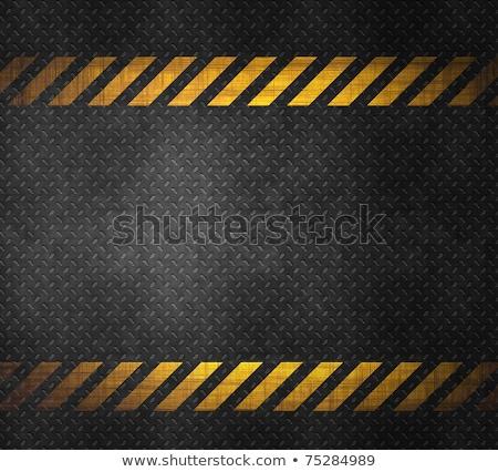Metal background with caution tape stock photo  kayros 954167  Stockfresh