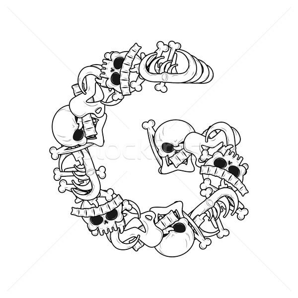 Halloween Dancing Skeleton Stock Images