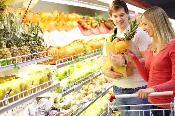 supermarket stock photos stock