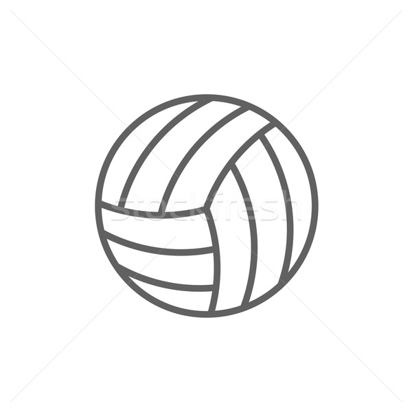 Volleyball Stock Vectors, Illustrations and Cliparts