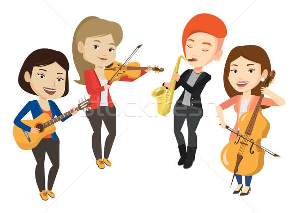 樂器 收藏矢量圖,插畫和美工圖案   Stockfresh