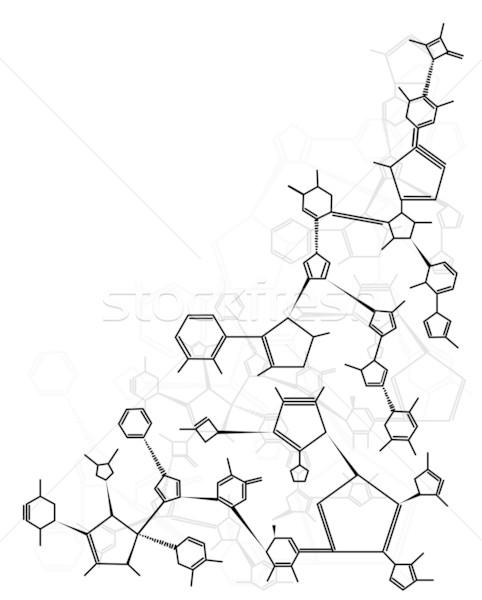 Chemical formula background stock photo © Shawn Hempel