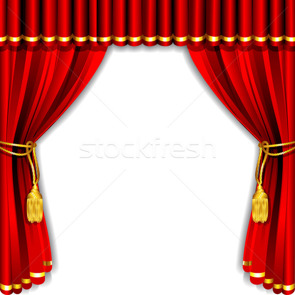 Transpa Red Curtains Decor Png Clipart Bks