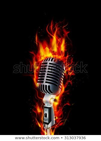 Wallpaper Hd Portrait Orientation Fire Microphone Stock Photo 169 Uladzimir Bakunovich
