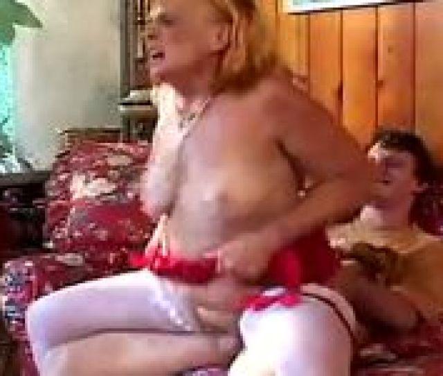 Horny Grandmother Sucks Fucks Her Grandson