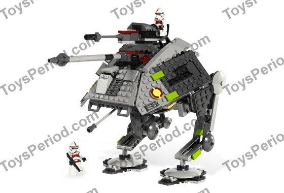 LEGO 7671 AT-AP Walker Set Parts Inventory and