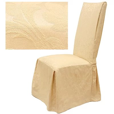 Easy Fit Damask Dining Chair Slipcover  Reviews  Wayfair