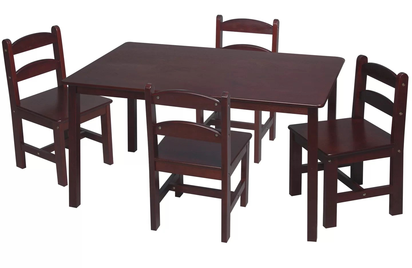 Kids Table And Chair Sets Kids 5 Pc Table And Chair Set Childrens Furniture