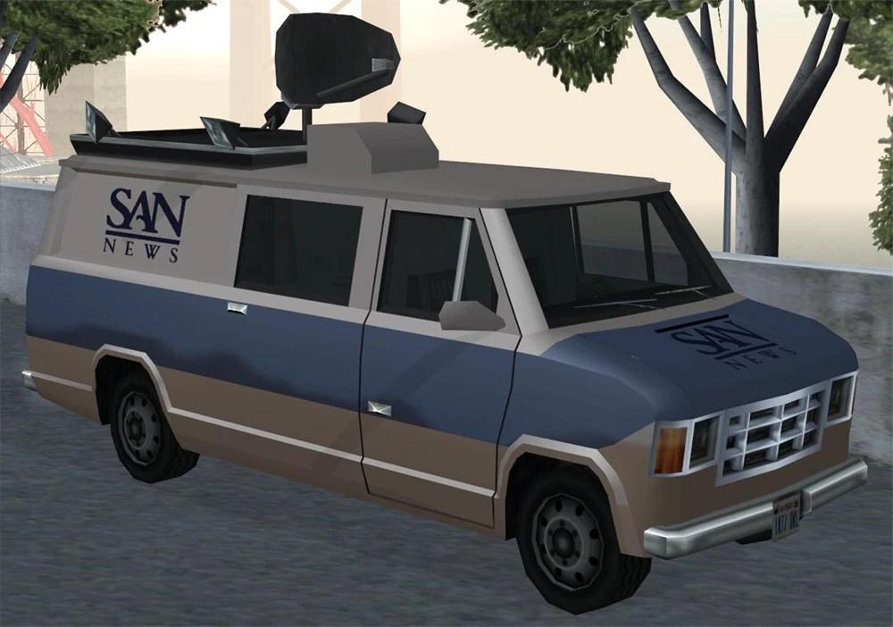 Newsvan GTA Wiki The Grand Theft Auto Wiki GTA IV