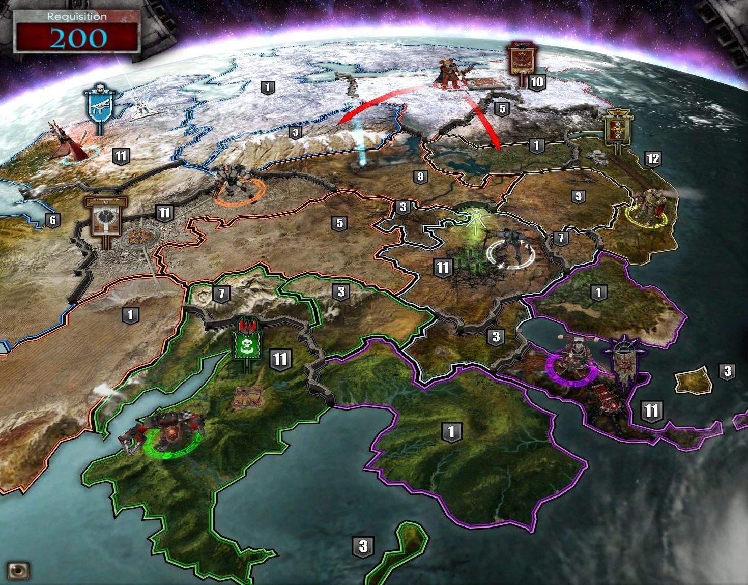 Dawn War Soulstorm Maps