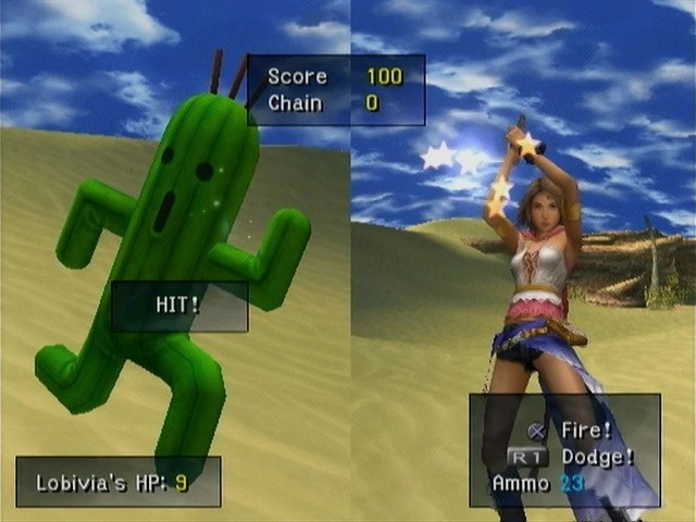 Minigame The Final Fantasy Wiki 10 Years Of Having