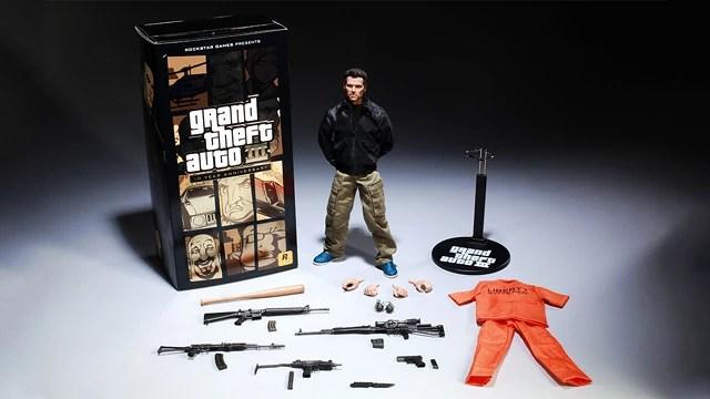 Figura De Accin De Claude Grand Theft Auto Encyclopedia