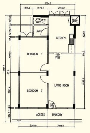 Hdb floorplans  Singapore public housing Wiki